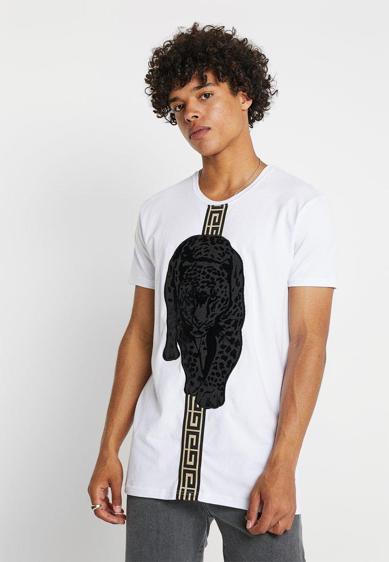 Glorious Gangsta - HATHI - T-shirt con stampa - white