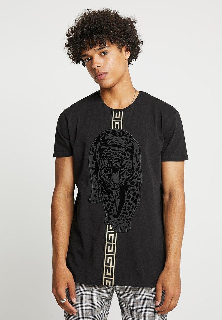 Glorious Gangsta - HATHI - T-Shirt print - black