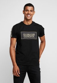 Glorious Gangsta - BAZLEY - T-shirt con stampa - black - 0