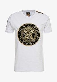 Glorious Gangsta - MERCY - Print T-shirt - white - 3