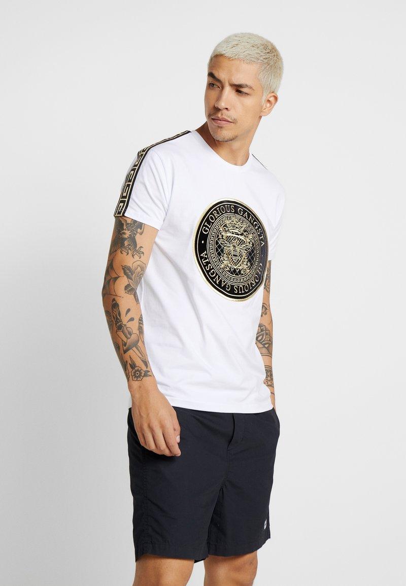 Glorious Gangsta - MERCY - Print T-shirt - white