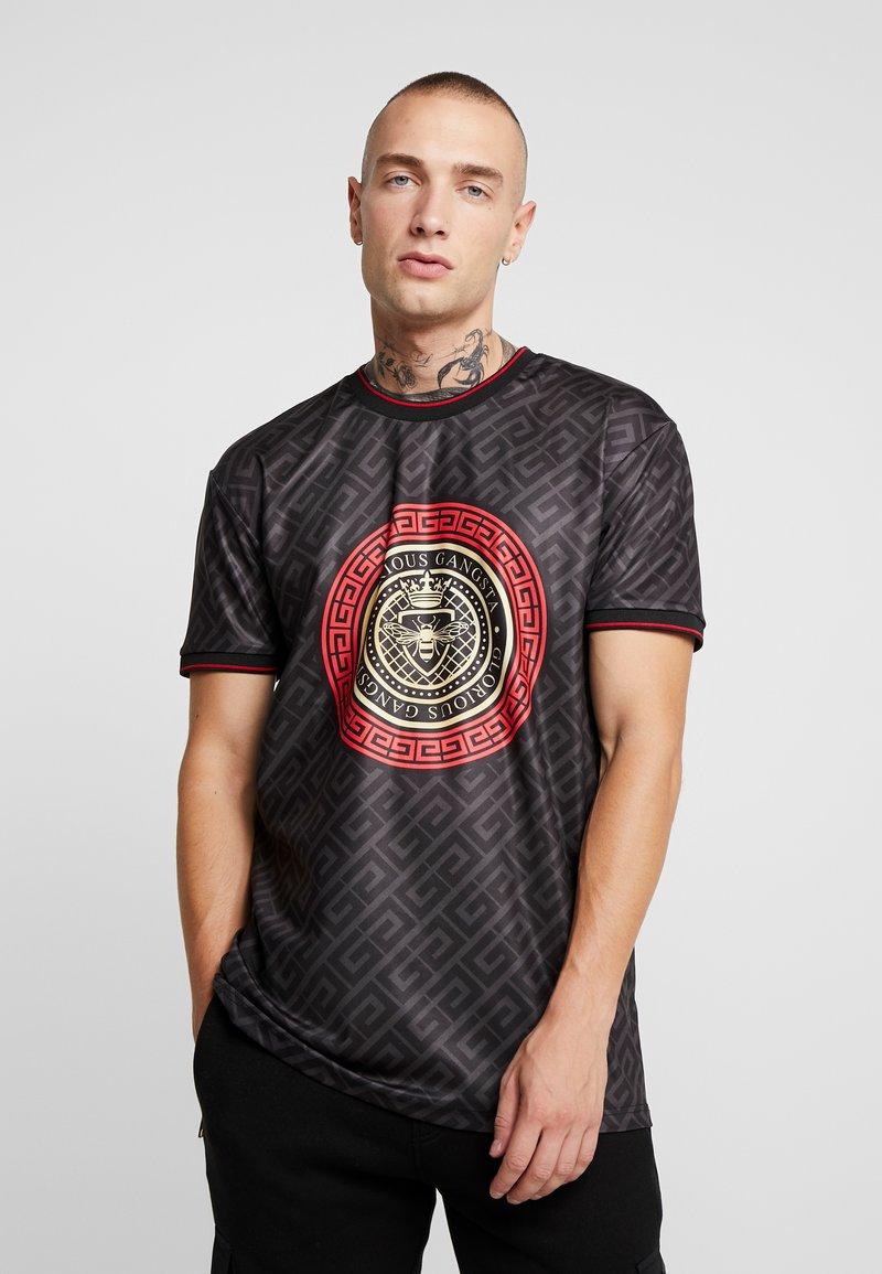 Glorious Gangsta - LEVAS LOGO - Print T-shirt - black