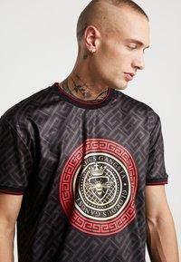 Glorious Gangsta - LEVAS LOGO - T-shirt print - black - 4
