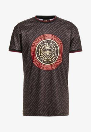 LEVAS LOGO - Camiseta estampada - black