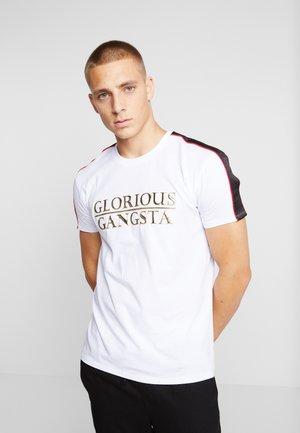 NOSTRA LOGO - T-shirt print - white