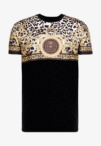 Glorious Gangsta - MARNO LEOPARD PRINT - T-shirt med print - black - 3