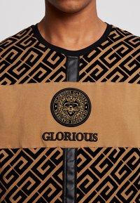 Glorious Gangsta - YAKUZA LOGO - T-shirt print - tan - 5