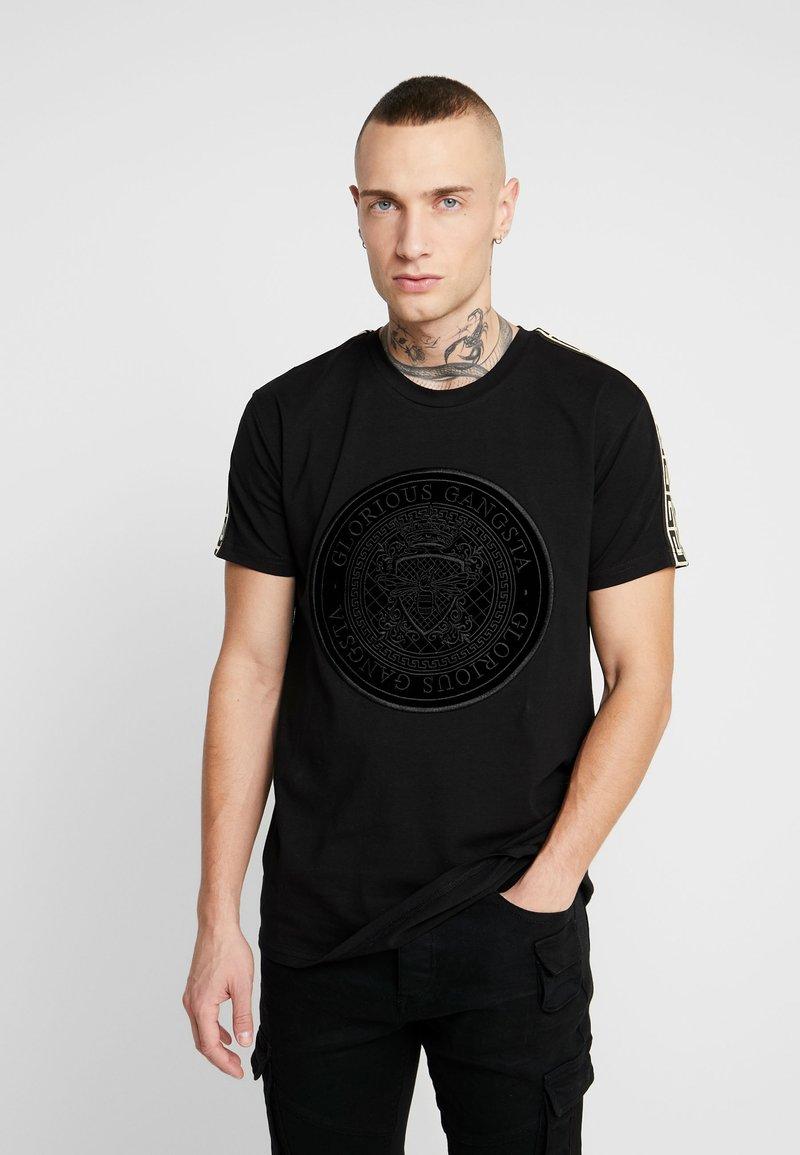 Glorious Gangsta - MERCY LOGO - T-shirt med print - black