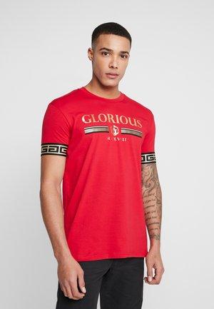 JEMOK LOGO  - T-shirt print - red