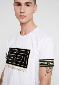 Glorious Gangsta - LANZA - T-shirt con stampa - white - 4