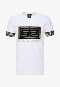 Glorious Gangsta - LANZA - T-shirt con stampa - white - 3