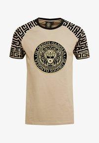Glorious Gangsta - NAPOLI - T-shirt z nadrukiem - sand - 4