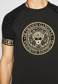 Glorious Gangsta - NAPOLI - T-shirt print - black - 6