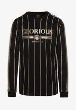 DERBAN LONGSLEEVE TEE - Long sleeved top - black