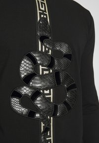 Glorious Gangsta - DEVANEYLONGSLEEVE TEE - T-shirt basique - black - 5