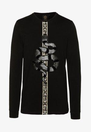 DEVANEYLONGSLEEVE TEE - T-paita - black