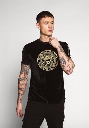KONGO - Camiseta estampada - black