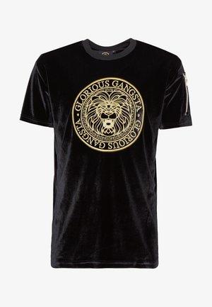 KONGO - Print T-shirt - black