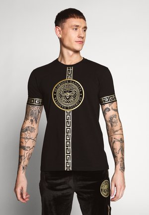 ENVY - Camiseta estampada - black