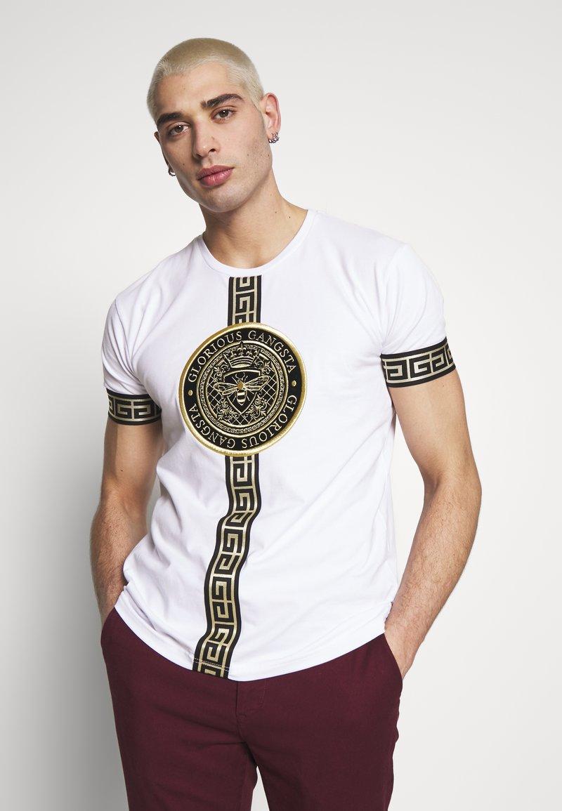 Glorious Gangsta - ENVY  - T-shirt con stampa - white