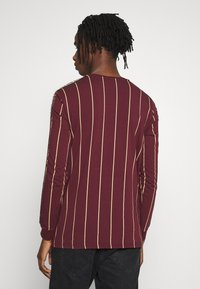 Glorious Gangsta - DERBAN LONG SLEEVE - Bluzka z długim rękawem - burgundy - 2