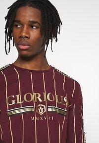 Glorious Gangsta - DERBAN LONG SLEEVE - Bluzka z długim rękawem - burgundy - 5