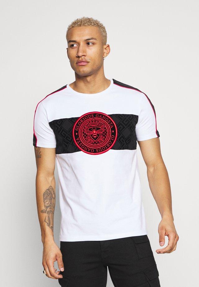 DALIAN - T-shirt imprimé - white