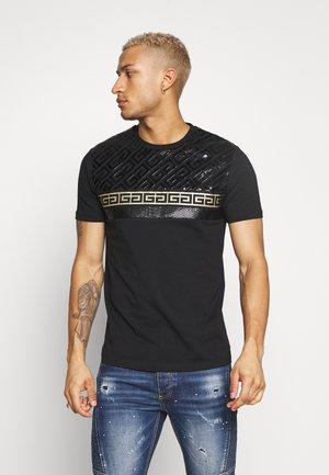 KOSTAS - T-shirt med print - black