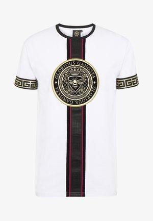 DAKOTA - T-shirt imprimé - white