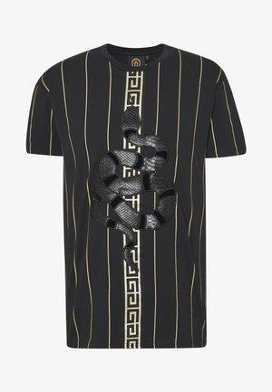 LUCHESSE - Print T-shirt - black