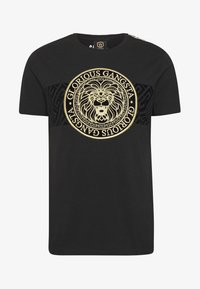 Glorious Gangsta - DAPOLI - T-shirt z nadrukiem - black - 3