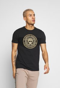 Glorious Gangsta - DAPOLI - T-shirt z nadrukiem - black - 0