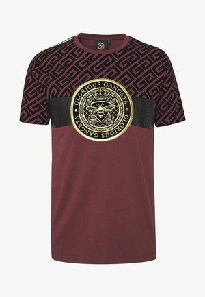 ELIAN - T-shirt imprimé - burgundy