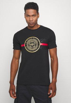 ALANIS - T-shirt z nadrukiem - black