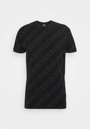 BANTU TEE - T-shirt imprimé - black