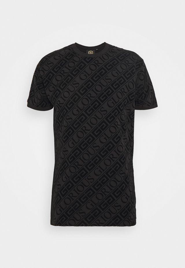 BANTU TEE - T-shirts med print - black