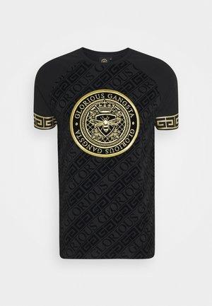 LANZO  - Print T-shirt - black