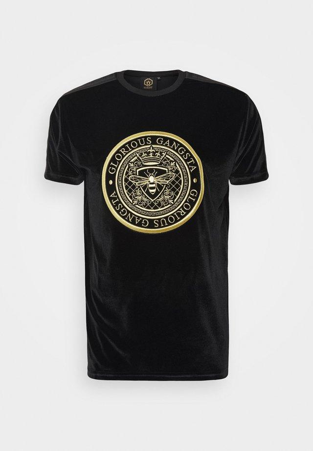 MARENO - T-Shirt print - black