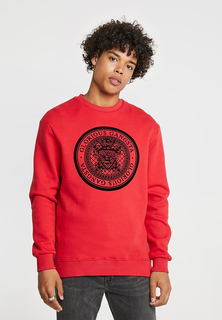 Glorious Gangsta - AKAN CREW - Sweatshirt - red