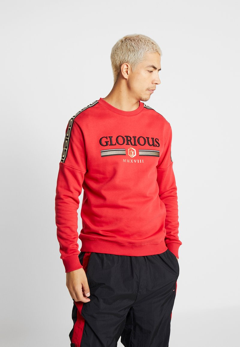 Glorious Gangsta - KALK CREW - Sudadera - red