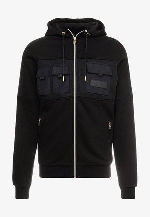 GALIS UTILITY HOOODIE - Zip-up hoodie - black