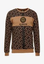 YAKUZA LOGO SWEAT - Sweatshirt - tan