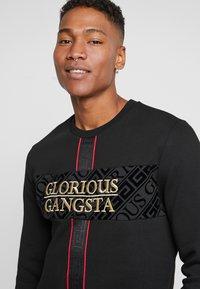 Glorious Gangsta - GLIMCO CREW NECK - Sweater - black - 5