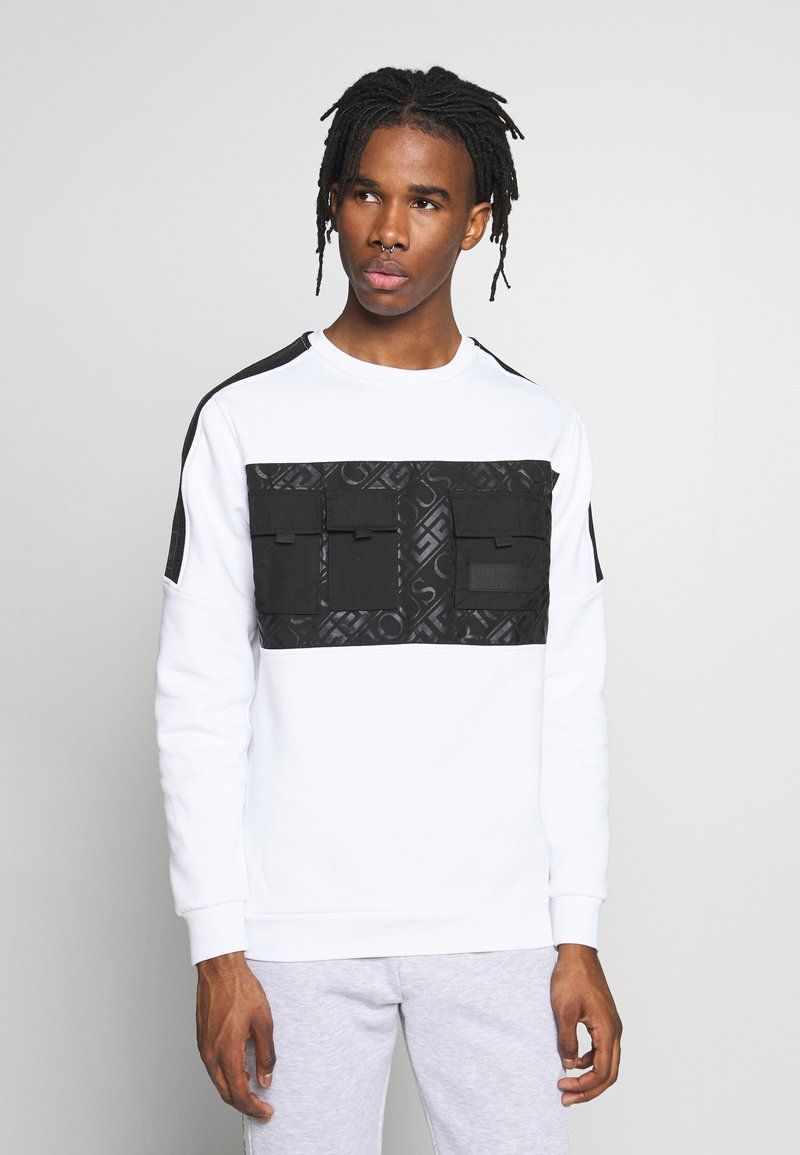 Glorious Gangsta - GALANTE POCKET - Sweatshirt - white