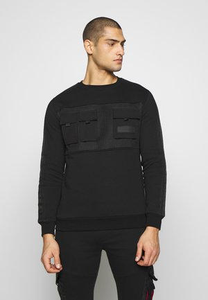 MORELLO POCKET - Felpa - black