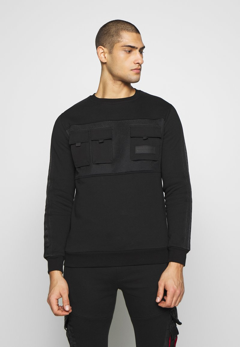 Glorious Gangsta - MORELLO POCKET - Sweater - black