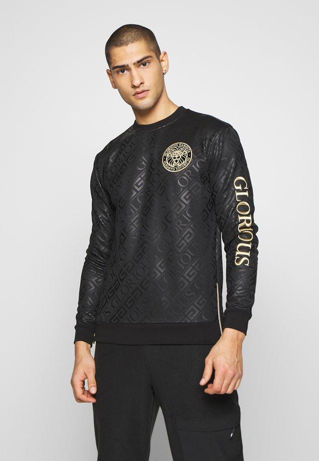 LINDEN - Sweatshirt - black