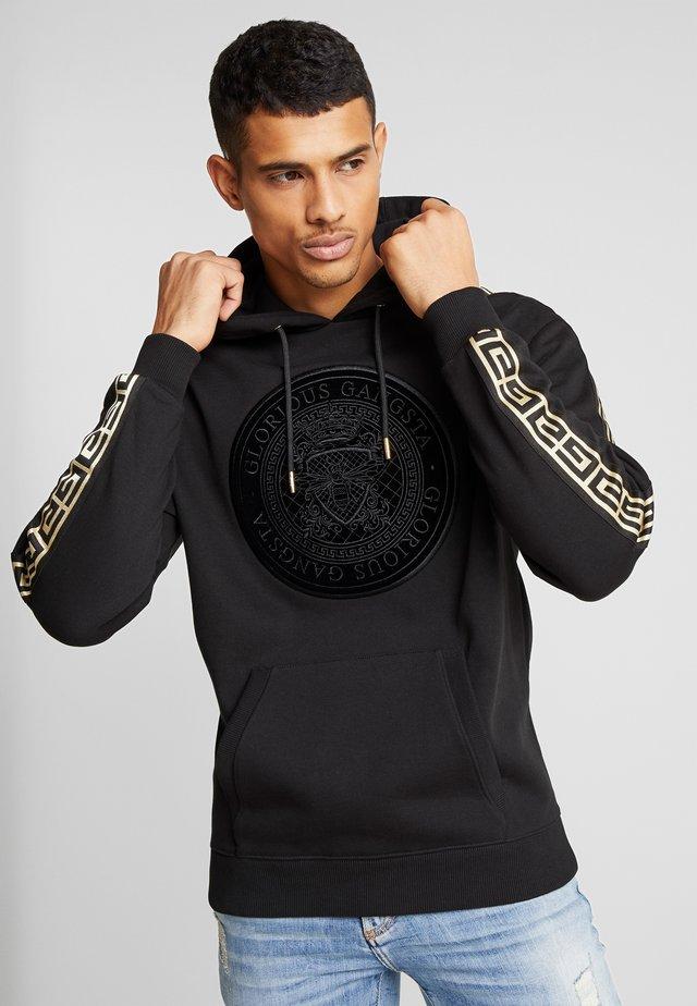 MERCY LOGO HOODIE  - Jersey con capucha - black