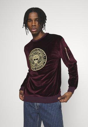 KONGO - Sweater - burgundy