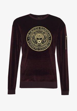 KONGO - Sweatshirts - burgundy